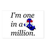 One in a Million Postcards (Package of 8)