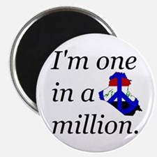 """One in a Million 2.25"""" Magnet (100 pack)"""