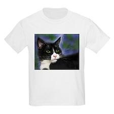 3-SatisfiedTuxedoCat3_UseThisOne T-Shirt