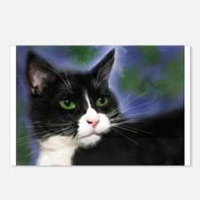 Unique Tuxedo cat Postcards (Package of 8)