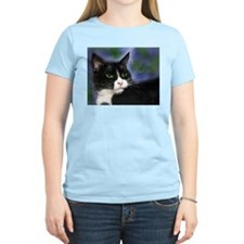 Funny Cat painting T-Shirt