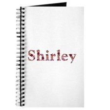 Shirley Pink Flowers Journal