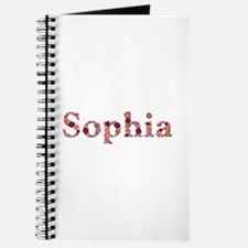 Sophia Pink Flowers Journal