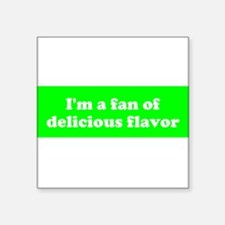 Psych Fan of Delicious Flavor Sticker
