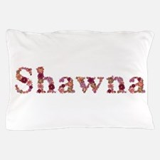 Shawna Pink Flowers Pillow Case