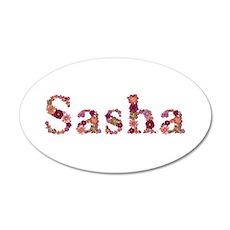 Sasha Pink Flowers Wall Decal