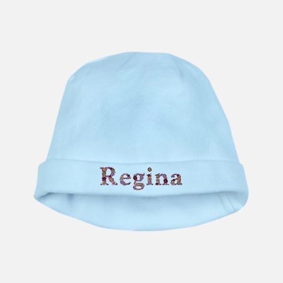 Regina Pink Flowers baby hat