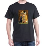 The Kiss & Black Lab Dark T-Shirt