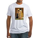 The Kiss & Black Lab Fitted T-Shirt