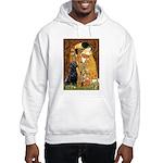The Kiss & Black Lab Hooded Sweatshirt
