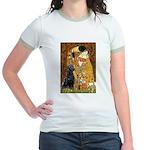The Kiss & Black Lab Jr. Ringer T-Shirt