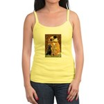 The Kiss & Black Lab Jr. Spaghetti Tank