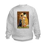 The Kiss & Black Lab Kids Sweatshirt