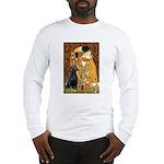 The Kiss & Black Lab Long Sleeve T-Shirt