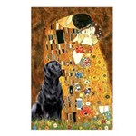 The Kiss & Black Lab Postcards (Package of 8)