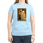 The Kiss & Black Lab Women's Light T-Shirt