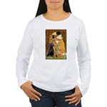 The Kiss & Black Lab Women's Long Sleeve T-Shirt
