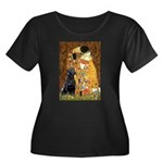 The Kiss & Black Lab Women's Plus Size Scoop Neck