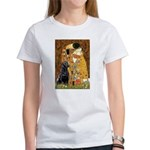 The Kiss & Black Lab Women's T-Shirt