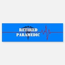 Retired Paramedic Bumper Bumper Sticker