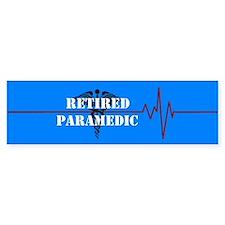 Retired Paramedic Bumper Sticker
