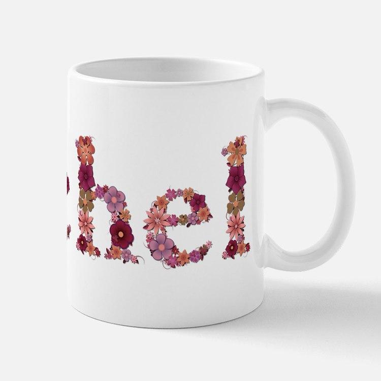 Rachel Pink Flowers Mugs