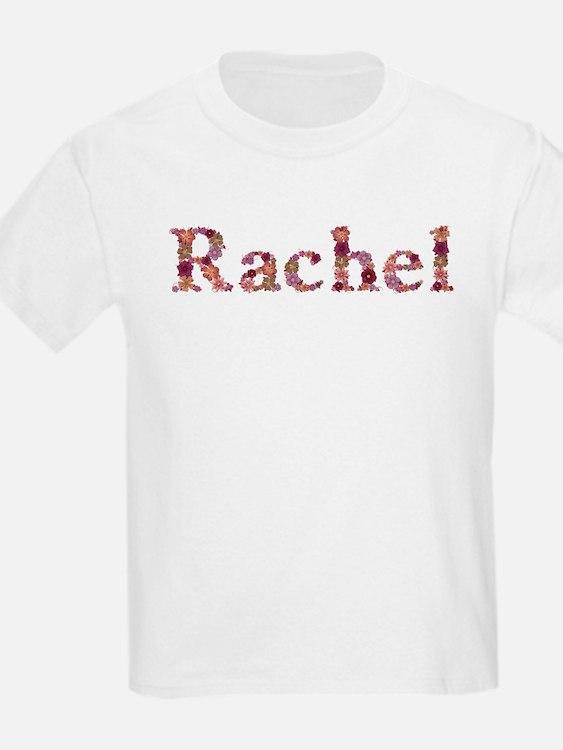 Rachel Pink Flowers T-Shirt
