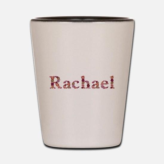 Rachael Pink Flowers Shot Glass