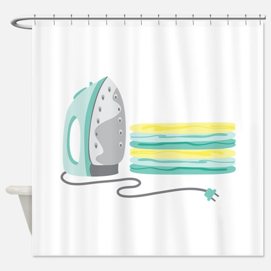 Household Iron Shower Curtain
