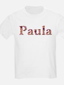 Paula Pink Flowers T-Shirt