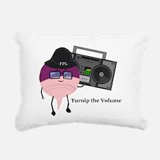 Turnip The Volume Rectangular Canvas Pillow