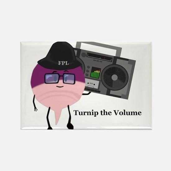 Turnip The Volume Rectangle Magnet