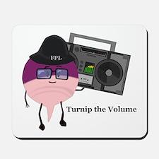 Turnip The Volume Mousepad