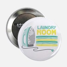"""Laundry Room 2.25"""" Button"""