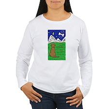 Women's Long Sleeve Dog Dreams T-Shirt