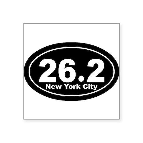 262_nyc_blk Sticker