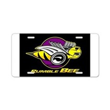 Cute Rumble bee Aluminum License Plate