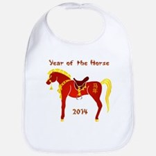 Year of the Horse Bib