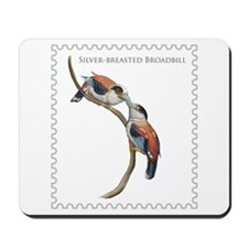 Silver-breasted Broadbill Mousepad