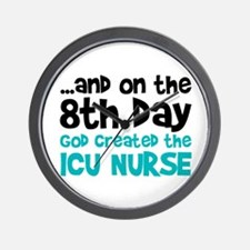 ICU Nurse Creation Wall Clock