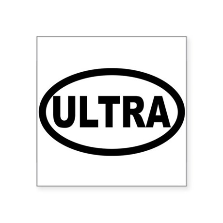 Ultra Ultra Oval Sticker
