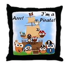 Arrr Im a Pirate Throw Pillow