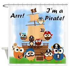 Arrr Im A Pirate Shower Curtain