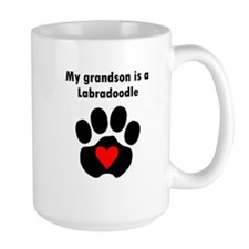 My Grandson Is A Labradoodle Mugs