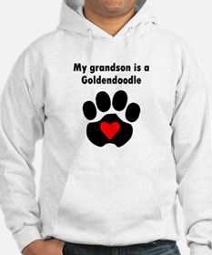 My Grandson Is A Goldendoodle Hoodie