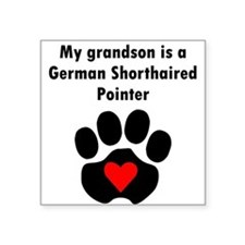 My Grandson Is A German Shorthaired Pointer Sticke