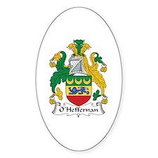O'Heffernan Oval Bumper Stickers
