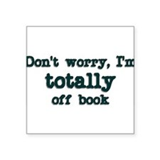 dontworryimoffbook Sticker