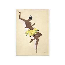 Josephine Baker, Banana Skirt,Vintage Poster 5'X7'