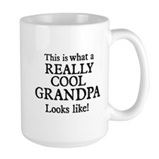 This is what a really cool grandpa looks like Mugs